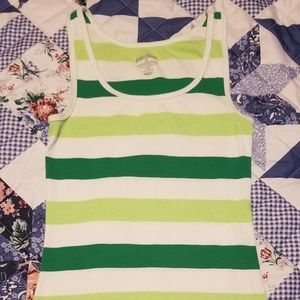 Ladies Old Navy Striped Tank Top Size Large